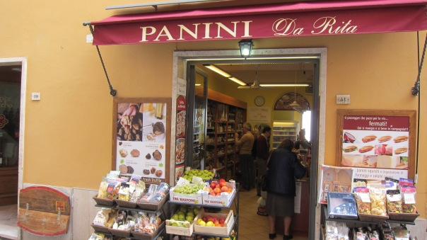 Montepulciano Italy - this micro store gave us foodie moments that don't exist in the mass marketing model of the supermarkets.
